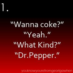 Only southerners understand this...so true!!! =].