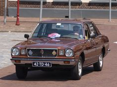 Front Toyota Cressida 1977