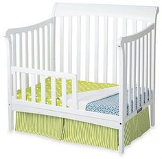 Child Craft Coventry Toddler Guard Rails Convertible Mini Cribs White Color #Child #Craft #Cribs #Toddler #Guard Rails #Convertible #White