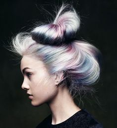 Opal Hair - I want to do this to my hair so badly. <3