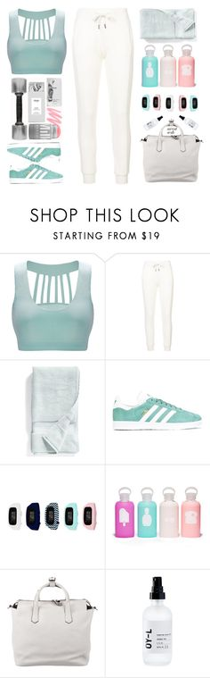 """""""Gym Style"""" by sound-of-snow ❤ liked on Polyvore featuring Puma, Nordstrom, adidas, B-Fit, bkr, Reed Krakoff and OY-L"""