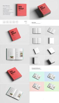 Free Book PSD Smart Object Mockup   The Creative Feed