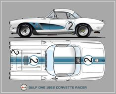 1962 Corvette Racer New cogs/casters could be made of cast polyamide which I (Cast polyamide) can produce