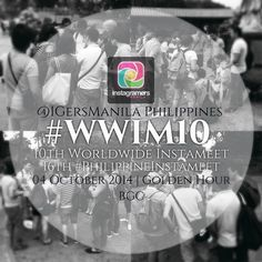 Instagramers  Groups participating to Worldwide Instameet on October 4th . Instagram Team recently announced Wolrdwide Instameet 10 #wwim10 for next October 4th. Here is a list of first Instagramer...