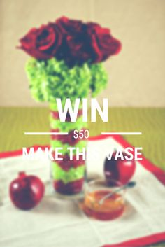 Learn to make this vase and WIN $50 in your choice of candy