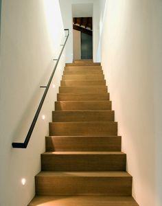 Tuscan kitchens – Mediterranean Home Decor Wood Floor Stairs, Oak Stairs, House Stairs, Tuscan Kitchen Design, Tuscan Kitchens, Oak Handrail, Kitchen Drawing, Stair Lighting, Hallway Designs