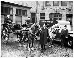 last of the Manchester Evening News ponies to leave', 25 March 1952.
