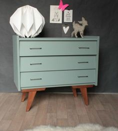 I wonder if we could make these legs for a dresser we have? #blue #inspiration by Mambo Unlimited Ideas