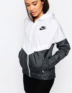 db1237780ec Nike Hooded Windbreaker Jacket With Colour Block at asos.com