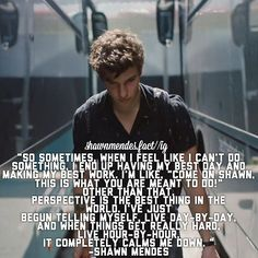 2nd favorite Shawn quote❤️❤️