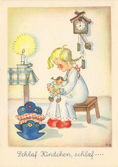 Nora Stechmann - Schlaf Kindchen, schlaf, blanco | eBay