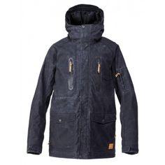 Quiksilver Mens Snowboard Jacket Dreaming 15k Caviar