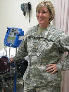 Maj. Elizabeth Vinson, the head nurse of the primary care clinics at Fox Army Health Center and the commander of the Warrior Transition Unit, said caring for Soldiers and their families is a mission that has filled her Army career with once-in-a-lifetime experiences.