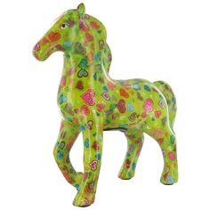 Pomme Pidou Horse Animal Money Bank - Green