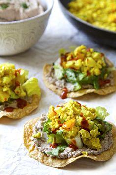 3 Quick & Easy Vegan Meal Ideas   Tofu Scramble Tostadas