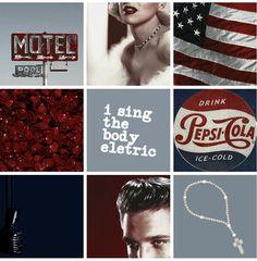 Lana Del Rey's 'Paradise' mood board #LDR