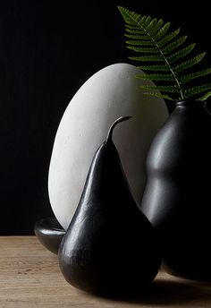 Black:  Pear.