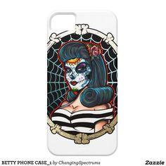 BETTY PHONE CASE_1 iPhone SE/5/5s CASE