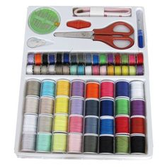 Michley Lil' Sew and Sew 100-Piece Sewing Kit #ArtsAndCrafts