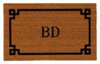 Monogrammed doormat | Ballard Designs