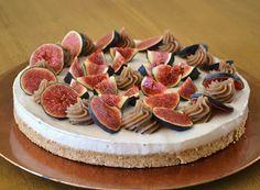 Privé de dessert!!!: Cheesecake d'automne, crème de marrons & figues fraîches