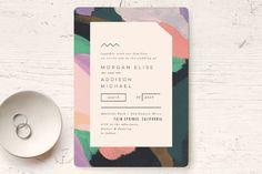Wedding Invitations Design Modern 28 Ideas For 2019 Fashion Invitation, Wedding Invitation Card Design, Invitation Kits, Card Box Wedding, Rustic Invitations, Modern Wedding Invitations, Wedding Stationery, Business Invitation, Invites