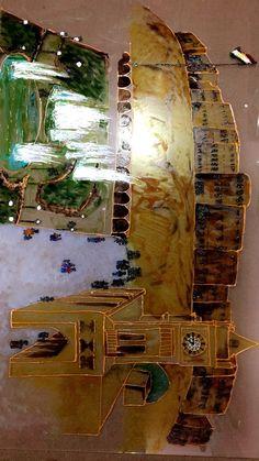 Glass, Painting, Art, Art Background, Drinkware, Corning Glass, Painting Art, Kunst, Paintings