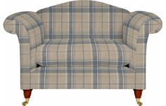 Home Furnishings, Clothing, Gifts & Sofa Chair, Armchair, Laura Ashley Usa, Home Furnishings, Sofas, Chairs, Check, Fabric, Room