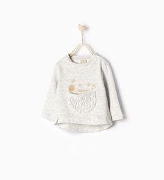 ZARA - COLLECTION SS16 - Guipure lace sweatshirt