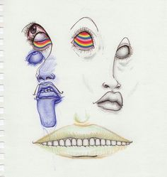 Trippy Art Doodles Artists Ideas For 2019 Art Sketches, Art Drawings, Weird Drawings, Interesting Drawings, Abstract Drawings, Weird Art, Arte Dope, Art Et Design, Arte Sketchbook