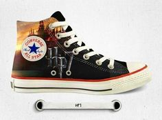 Harry Potter Converse Harry Potter Scarpe, Stile Harry Potter, Abiti Di Harry  Potter,