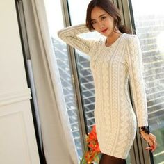 Buy 'WINGSMALL – Pointelle-Knit Dress' with Free International Shipping at YesStyle.com. Browse and shop for thousands of Asian fashion items from South Korea and more!