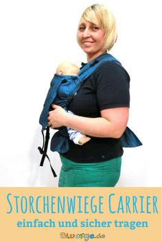 Der Storchenwiege Carrier ist eine tolle Tragehilfe für Babys ab Geburt bis ca. 15 kg. Du kannst damit vor dem Bauch und auf dem Rücken tragen. Am Hüftgurt hat sie eine Schnalle, die Schulterträger werden gebunden. Sie ist individuell einstellbar für Dich und Dein Baby.