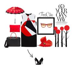 """chic"" by kotyto ❤ liked on Polyvore featuring Victoria, Victoria Beckham, Dolce&Gabbana, Ray-Ban, Dot & Bo, Brewster Home Fashions, Givenchy, Persol, Salvatore Ferragamo, women's clothing and women"