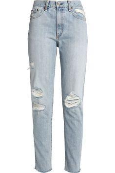 2fea0b29 Marilyn distressed boyfriend jeans | RAG & BONE | Sale up to 70% off