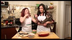 Broadway Nosh: Kirsten Wyatt and Lindsay Mendez (WICKED, GODSPELL, GREASE) cook kale and salmon