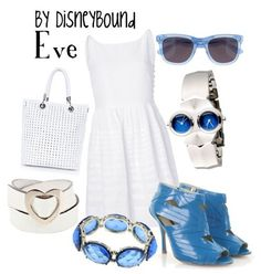Disneybound: Eve from Wall-E