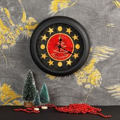 Kerstklok   borduren editie 75-2021