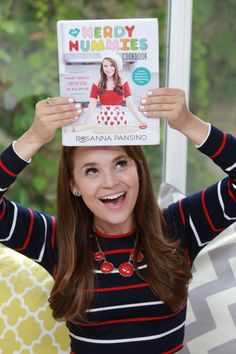This is Ros's cook book nerdy nummies