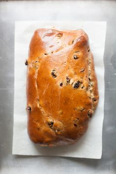 Whole Grain Christmas Stollen