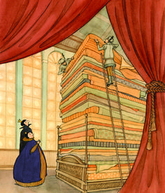 Princess & the Pea by Eliza Wheeler