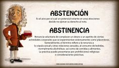 """La diferencia entre """"abstención"""" y """"abstinencia"""" #Spanish #LearnSpanish #SpanishWords #Infographic Spanish Grammar, Spanish Vocabulary, Spanish Words, Spanish Class, Learning Spanish, Different Words, Facts, Teaching, Recovery"""