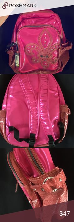 Brand New Miss Me Back Pack Pink Brand New Miss Me Back Pack - Never used. Tag still on it! Multiple compartments Miss Me Bags Backpacks