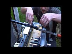 Testing The New Adjustable Angle Jig For Grinding Knife Bevels - YouTube