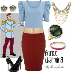 """""""Prince Charming"""" by disneylooks on Polyvore"""