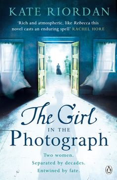 The Girl in the Photograph, Kate Riordan. In the summer of 1933, Alice has arrived at Fiercombe Manor in disgrace. The beautiful house becomes her sanctuary, a place to hide her shame from society. The manor also becomes a place of suspicion, of secrecy. Something isn't right. Someone is watching. Tragedy haunts the empty rooms & foreboding hangs heavy in the stifling heat. Traces of the previous occupant, Elizabeth Stanton, are everywhere.