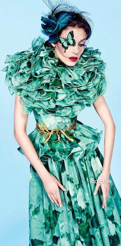 Giambattista Valli for Vogue Paris November 2012 - Photography Inez & Vinoodh