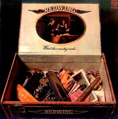 """""""What This Country Needs"""" (1972, Fantasy) by Redwing.  Their second LP."""