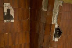 #Lost carteles de gente desaparecida #Estación #LaNaja #Bilbao #Abandonado