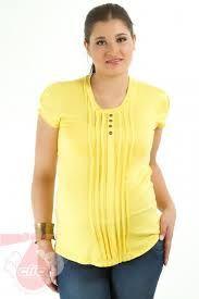Resultado de imagen para blusa con alforzas